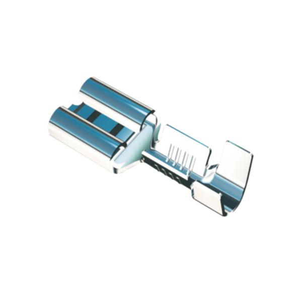 zacisk, zaciski, krimpy, końcówki nieizolowane, wiązki kablowe terminal, konektor, końcówka, F1.0, F2.5