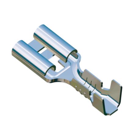 zacisk, zaciski, krimpy, koncowki nieizolowane, wiazki kablowe, terminal, konektor, koncowka, F1.0, F2.5, wiresolutions, gmg