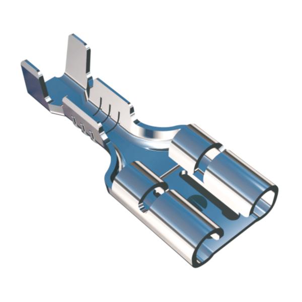 terminal, konektor, koncowka, F1.0, F2.5, zacisk, zaciski, krimpy, koncowki nieizolowane, wiazki kablowe, low inserion, low force, gmg, wiresolutions