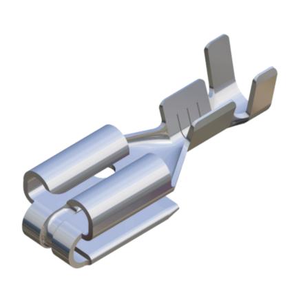 terminal, konektor, koncowka, F1.0, F2.5, E1.0, E.25, łopatka, piggy back, wiresolutions, gmg