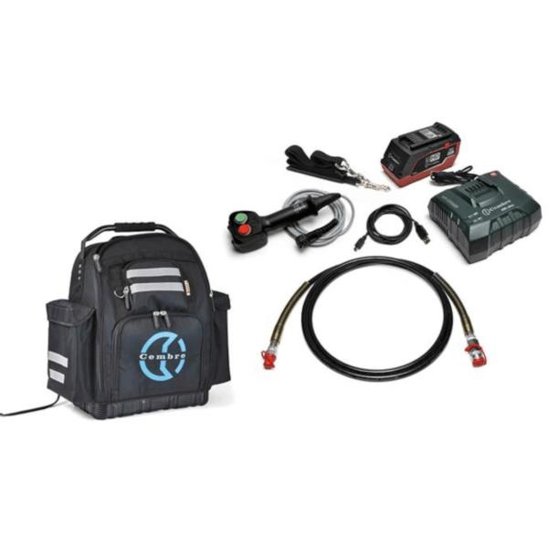 pompa hydrauliczna, przenosna, aukumulatorowa, wiresollutions, cembre