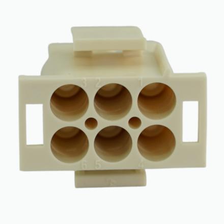 Obudowa mate n lock 6,35mm, obudowa typu wtyk, obudowa typu gniazdo, obudowa zenska, obudowa meska, V2, V0, standard, no flame, wiresolutions, mikropla